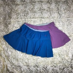 Nike Tennis Skirt Purple/Blue SZ M. 2/$15. $10 ea.